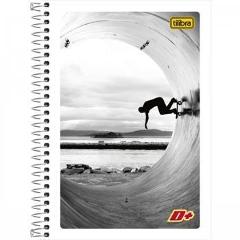 Caderno Espiral Pequeno Mais+ 96 Folhas