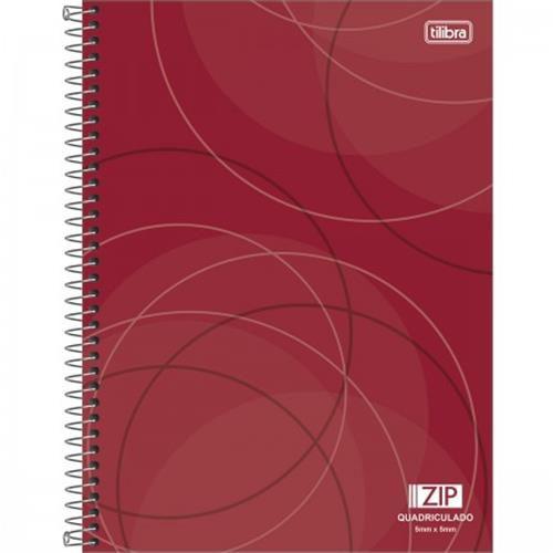Caderno Espiral Aritimetica Zip 5x5 - 96 Folhas  - Capas Sortidas