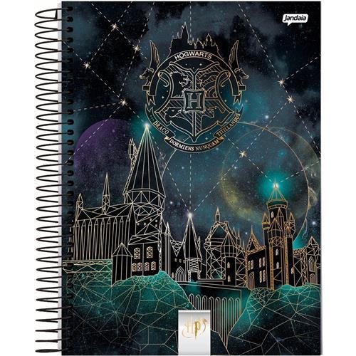Caderno Jandaia Espiral Pequeno Harry Potter - 96 Folhas - Capas Sortidas