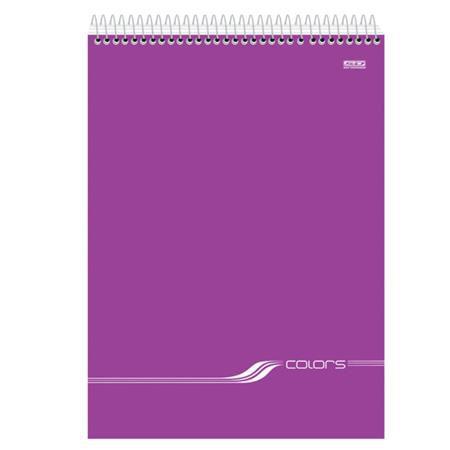 Caderno São Domingos Espiral Superior Pequeno Colors - 96 Folhas