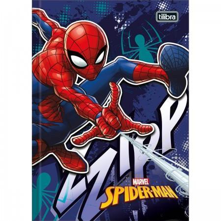 Caderno Tilibra Brochura Capa Dura Pequeno Spider-man - 96 Folhas - Capas Sortidas
