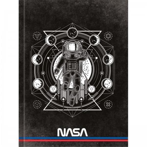 CADERNO TILIBRA BROCHURA CAPA DURA UNIVERSITÁRIO NASA - 80 FOLHAS - CAPAS SORTIDAS