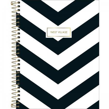 Caderno Tilibra Espiral Capa Dura Colegial 10 Matérias West Village - 160  Folhas - Meu Livro Mega Store 5cc554a002427