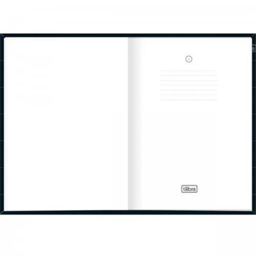 Caderno Tilibra Executivo Costurado Capa Dura Sem Pauta Organizer 80 Folhas - Capas Sortidas