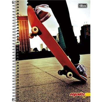 Caderno Universitário 20 Matérias Mais+ Masculino - 400 Folhas