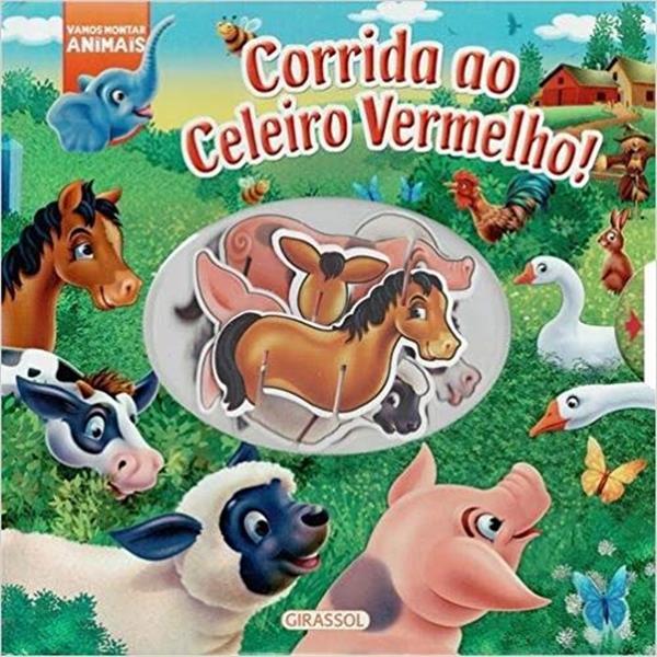 CORRIDA AO CELEIRO VERMELHO - COLEÇÃO VAMOS MONTAR ANIMAIS