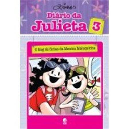 Diario da Julieta 3 - O Blog de Ferias da Menina Maluquinha