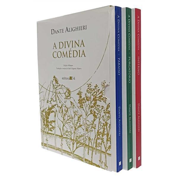 DIVINA COMEDIA, A - 3 VOLS - EDITORA 34 - DANTE ALIGHIERI