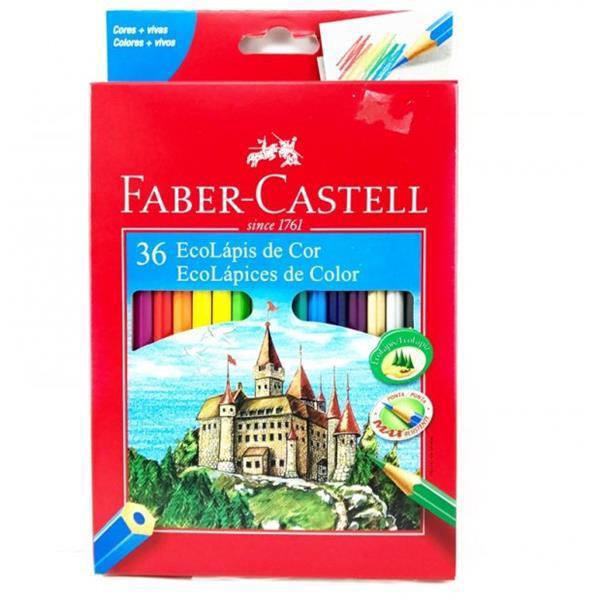 ECOLÁPIS DE COR 36 CORES FABER-CASTELL - 120136