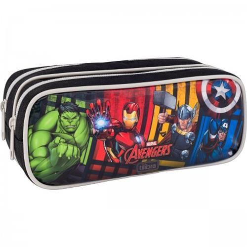 Estojo Tilibra Duplo Grande Avengers