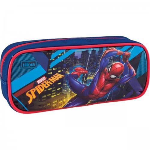 Estojo Tilibra Duplo Grande Spider-man
