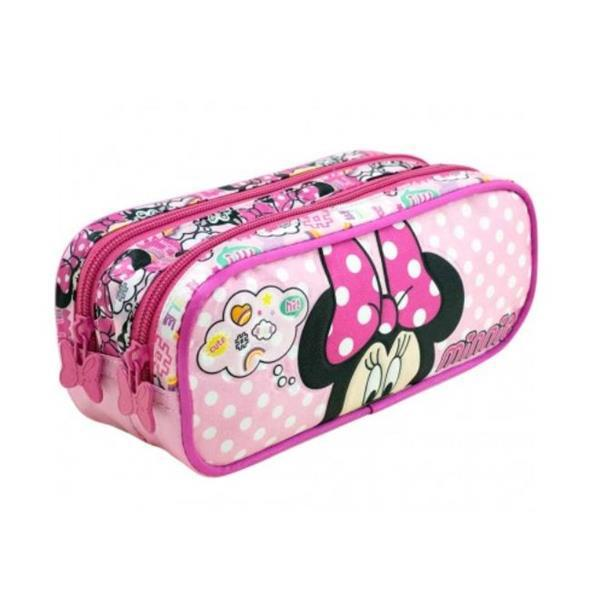 ESTOJO XERYUS 2 COMPARTIMENTOS MINNIE MAGIC BOW - 8985