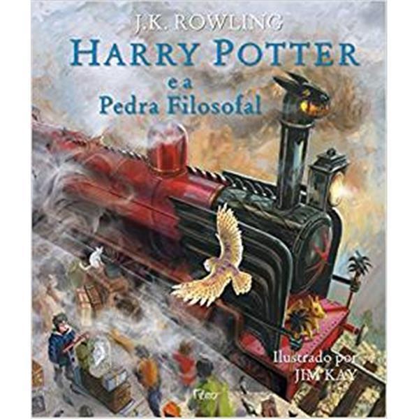 HARRY POTTER E A PEDRA FILOSOFAL - EDIÇÃO ILUSTRADA - J. K. ROWLING