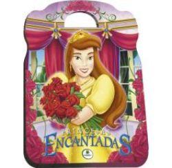 Livro Infantil Maleta/dvd Princesas Encantadas