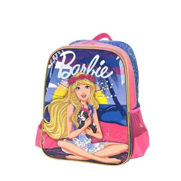 MOCHILA LUXCEL COSTAS BARBIE GIRL POWER - ROXO E ROSA