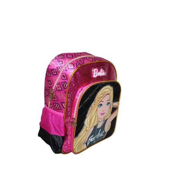 MOCHILA LUXCEL UP4YOU BARBIE GLITTER - PRETO