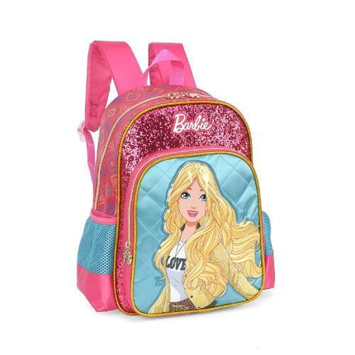 Mochila Luxcel Up4you Barbie Glitter - Verde