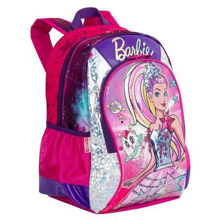 Mochila Sestini  M Barbie Aventura Nas Estrelas Rosa