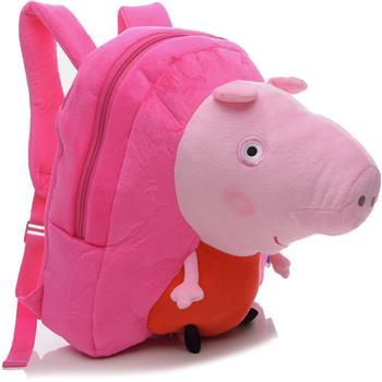 a6d22e0a3 Mochila Xeryus Peppa Pig Plush - Meu Livro Mega Store
