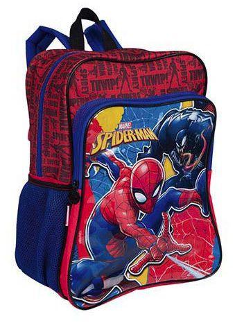 27bc210322 Mochila Sestini Grande Com Bolso 2 Em 1 Spiderman 19m Plus - Meu Livro Mega  Store