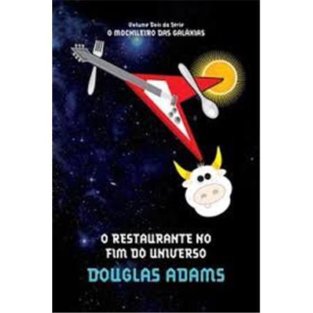 O Restaurante No Fim do Universo - Capa Nova