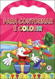Palhaco - Para Contornar e Colorir