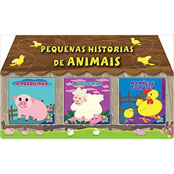 PEQUENAS HISTORIAS DE ANIMAIS - KIT C/03 UND.