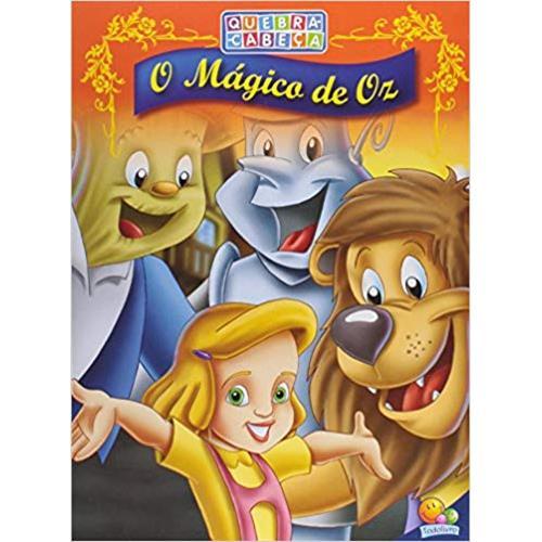 Quebra Cabeca Magico De Oz Meu Livro Mega Store
