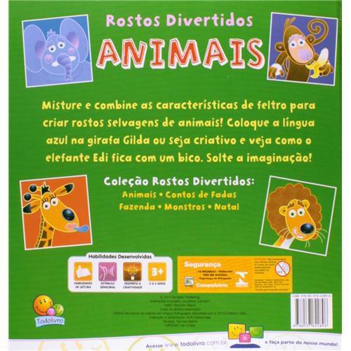 Rostos Divertidos: Animais