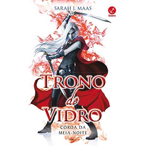 TRONO DE VIDRO VOLUME 2 : COROA DA MEIA-NOITE - SARAH MAAS