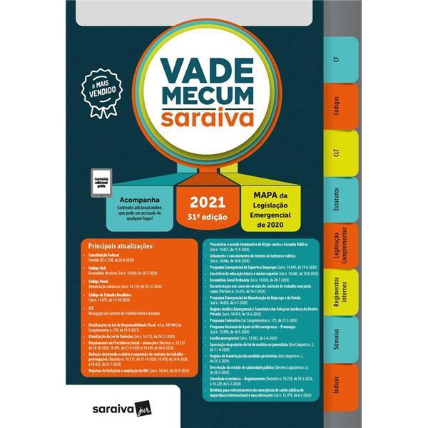 VADE MECUM 2021 - SARAIVA