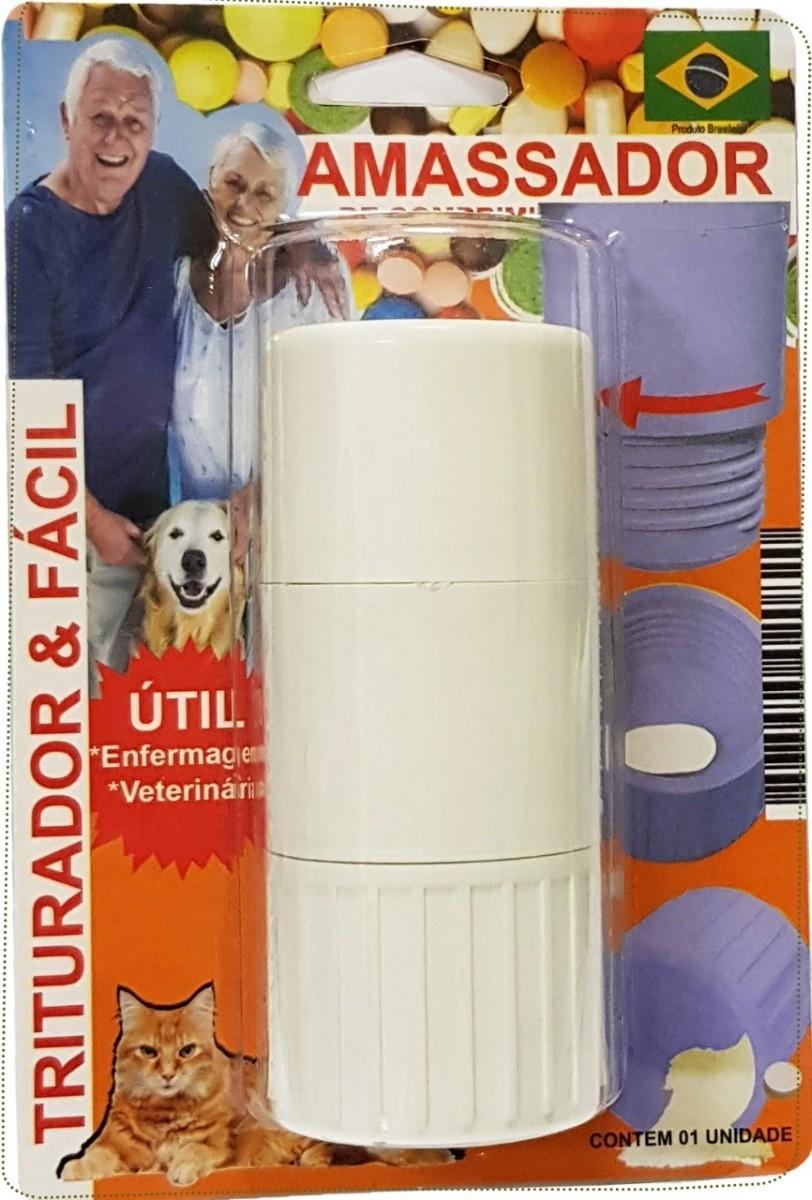 Amassador triturador de comprimidos para Pets