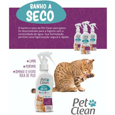 Banho a Seco Pet Clean para Gatos