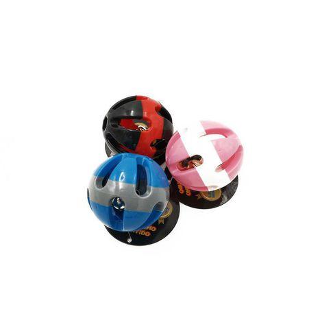 Brinquedo Bolinha com Guizo para Cães e Gatos 7 cm