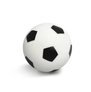 Brinquedo Mordedor Bola Futebol Cães com Apito