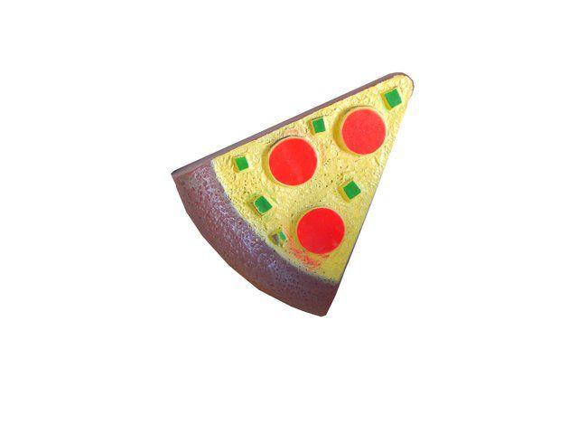 Brinquedo Mordedor Cães Pet Pizza com apito