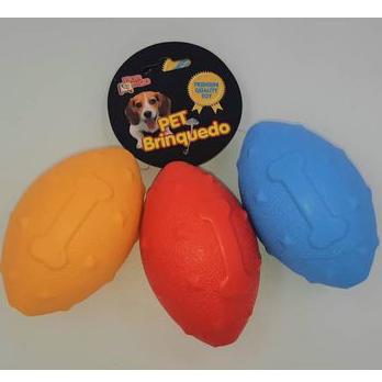 Brinquedo Mordedor para Cães - Bola Amigo Fut. Americano