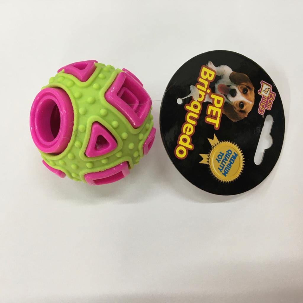 Brinquedo Mordedor para Cães - Bola Geometric