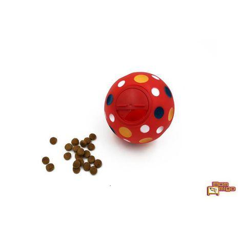 Brinquedo Mordedor para Cães Bola Petisco - Catapora 12cm