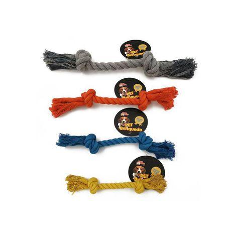 Brinquedo Mordedor para Cães - Corda Macaron