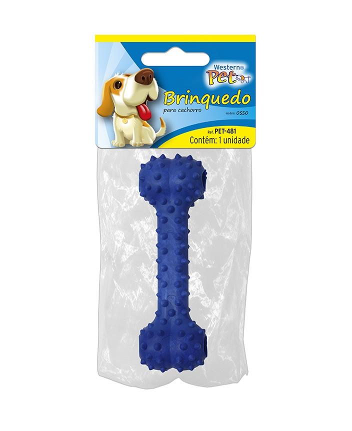 Brinquedo Mordedor para Cães - Osso Petisco