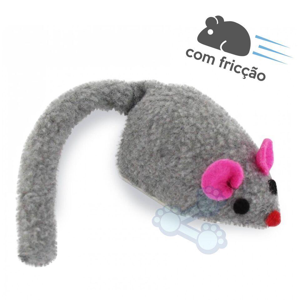 Brinquedo p/ Gato Ratinho Fricção