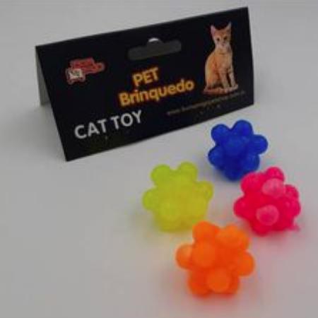 Brinquedo para Gatos - 4 Bolinhas Slime