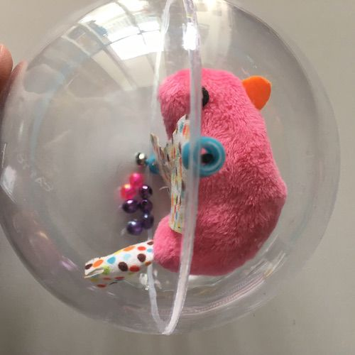 Brinquedo para Gatos - Bolha Passarinho c/ Catnip