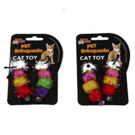 Brinquedo para Gatos - Centopéia c/ Guizo