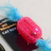 Brinquedo para Gatos - Cilindro c/ Guizos e Pena