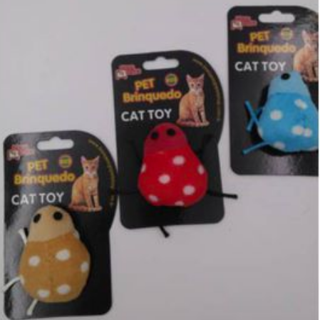 Brinquedo para Gatos - Ladybug Joaninha c/ Catnip