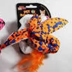 Brinquedo para Gatos - Passarinho Puxador c/ Catnip
