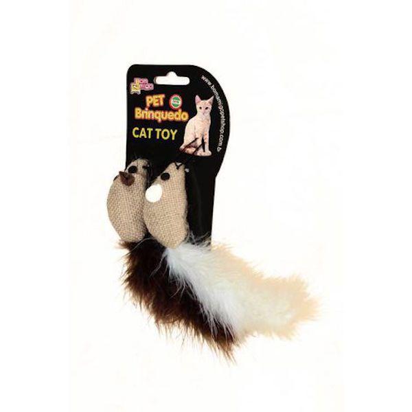 Brinquedo para Gatos - Ratinho Arranhador