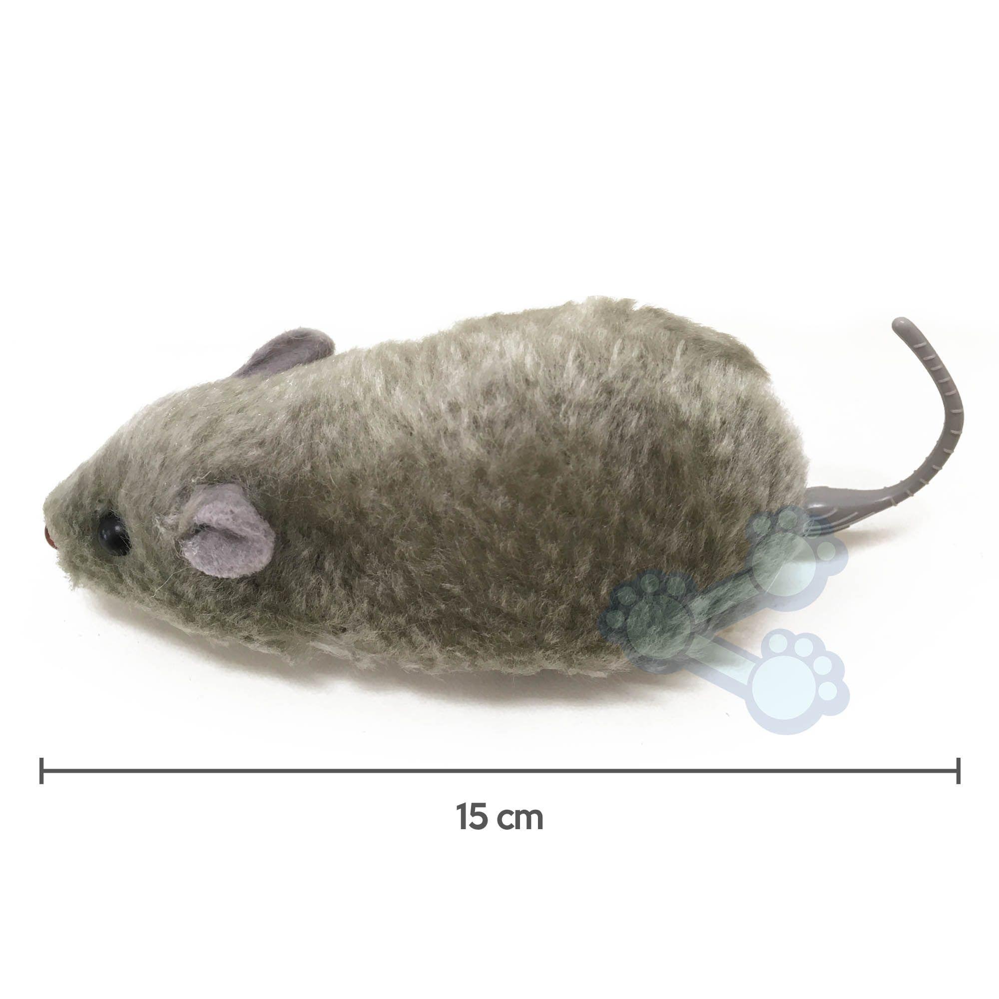 Brinquedo para Gatos Ratinho sobre Rodas de Fricção